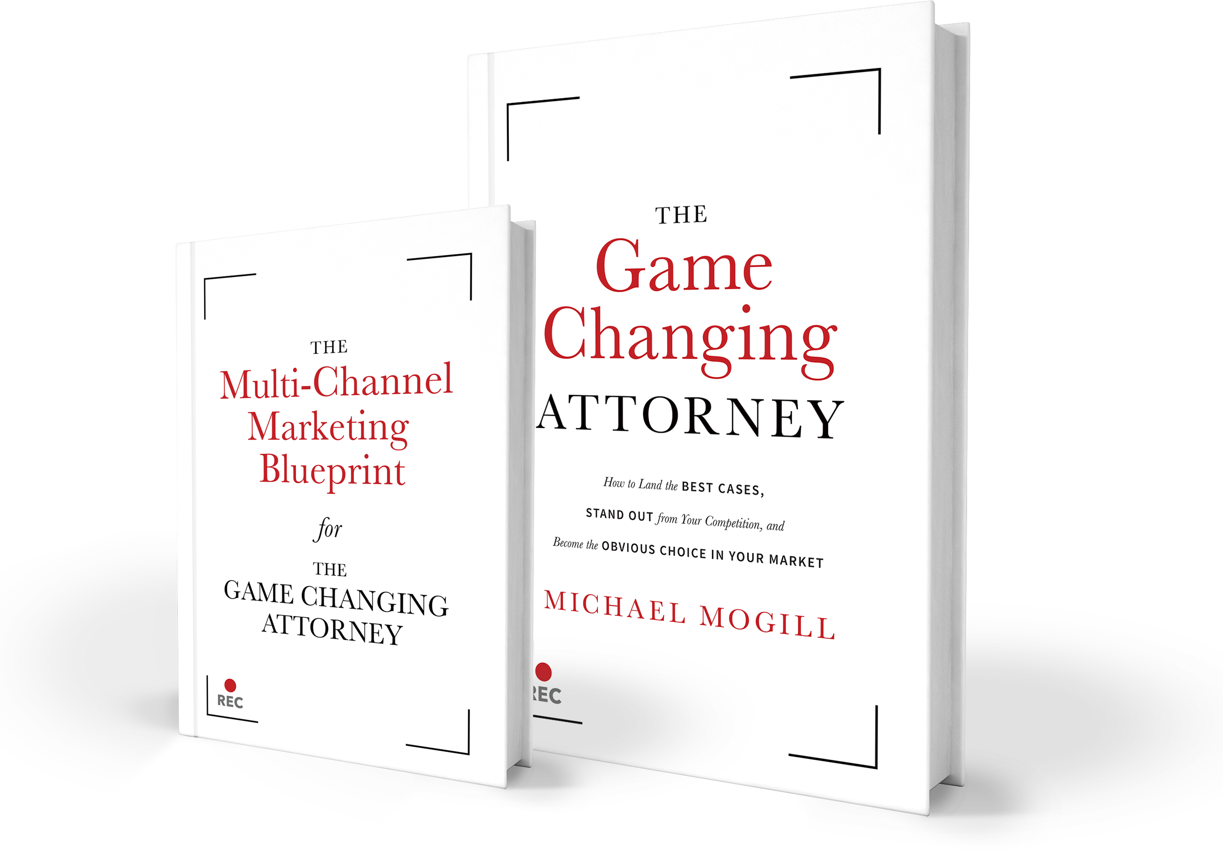 Double Book Graphic -- Michael Mogill