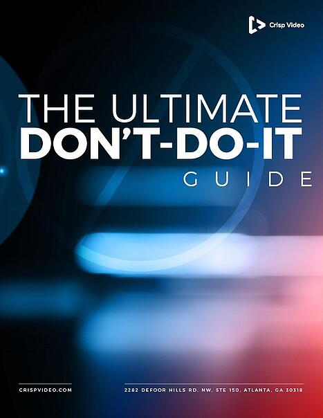 Ultimate Dont-Do-It Guide COVER